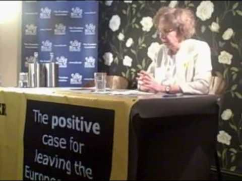 Lindsay Jenkins, of BETTER OFF OUT, backs LibDem referendum policy - short version