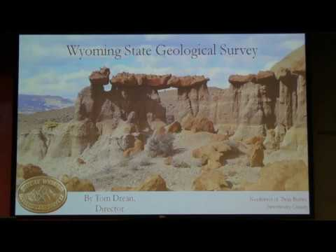 WY State Geological Survey: Its mission & contribution to WY and US Tom Drean, DIR