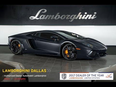 2012 Lamborghini Aventador LP 700-4 Nero Nemesis LT1042