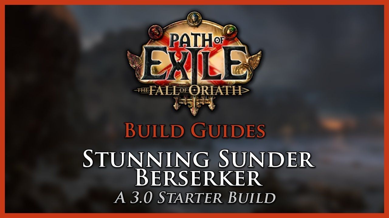 Top 5 Starting Builds For Path Of Exile 30: The Fall Of Oriath  Path Of  Exile
