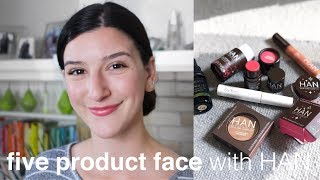 Five Product Face with HAN Cosmetics | Clean, Green Beauty