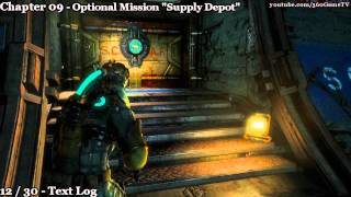 Dead Space 3 - Chapter 09 - 100% Collectibles Guide - All Logs, Weapon Parts, Circuits, Artifacts