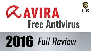 Avira Free Antivirus 2016 Review