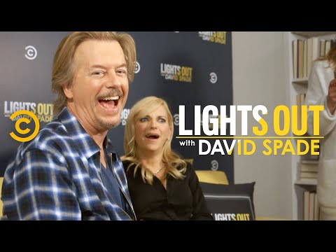 Comparing Instagram Likes with Anna Faris - Lights Out with David Spade
