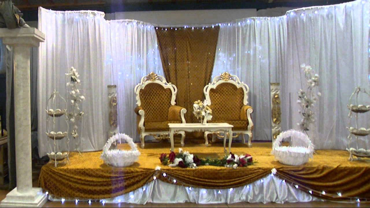 DECORATION MARIAGE - YouTube