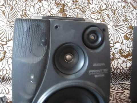 Колонки от музыкального центра Aiwa SX-ANV900