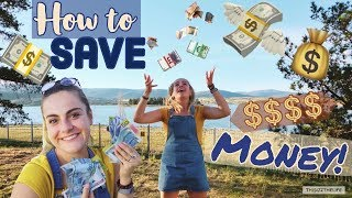 TOP TEN MONEY SAVING TIPS! | HOW TO SAVE ENOUGH TO TRAVEL THE WORLD