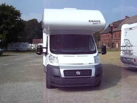 knaus sport traveller 500 d wohnmobil reisemobil caravan. Black Bedroom Furniture Sets. Home Design Ideas