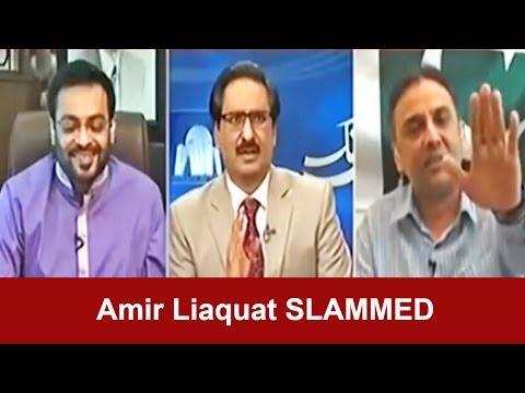 Kal Tak 21 March 2016 - Raza Haroon Slams Amir Liaquat and Altaf Hussain
