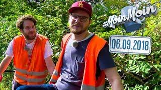Eisenbahn-Draisine fahren mit Etienne & Florentin | MoinMoin mit Etienne & Florentin
