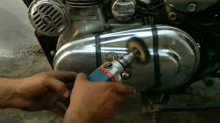 Royal Enfield engine buffing technique | Mehra Riderzz |
