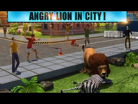 Angry Lion Attack 3D - Android Gameplay HD