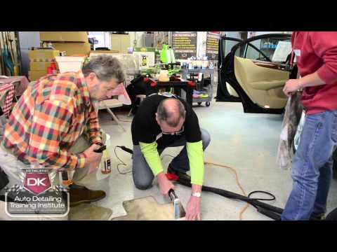 Detailing A Car Training