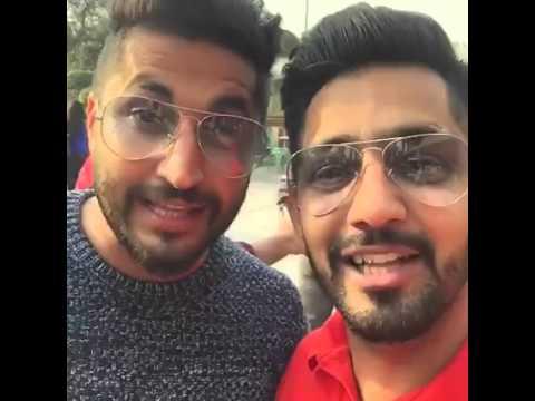 Babbal Rai & Jassi Gill Live in Delhi at Select City Walk Mall Saket