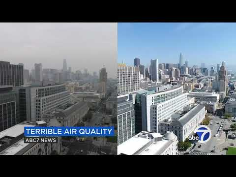 Heres how bad Bay Area air quality is because of the Camp Fire