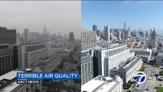 Here's how bad Bay Area air quality is because of the Camp Fire