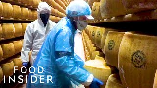The World's Best Parmesan Makers Are Banding Together To Keep Italy's Iconic Cheese In Production