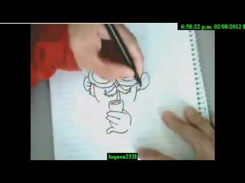Como hacer dibujos chidos youtube - Como hacer dibujos en la pared ...