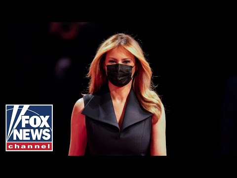 First lady Melania Trump campaigns in Pennsylvania
