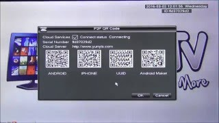 Using QR Codes to Configure N_Eye for P2P Remote Viewing of OAHD DVR screenshot 4