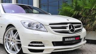 BRABUS: 800-HP Mercedes-Benz CL