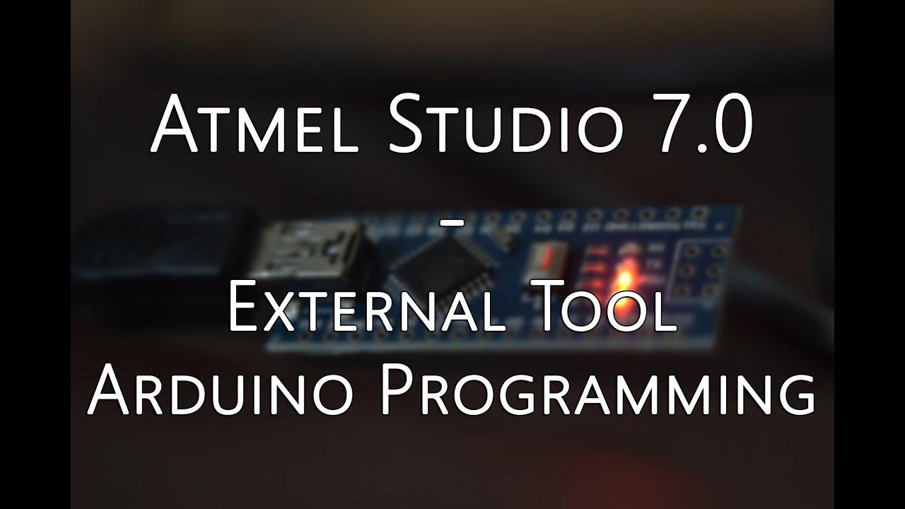 Avrdude Arduino Uno Atmel Studio Programming With Mrp01 Avr Usb Programmer Mrp For Atmega Attiny At External Tool Setup