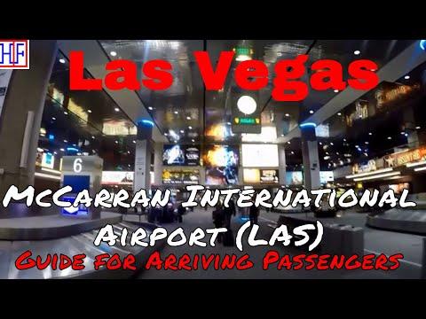 Las Vegas | McCarran International Airport (LAS) - Arrival  Info | Tourist Information | Episode# 1