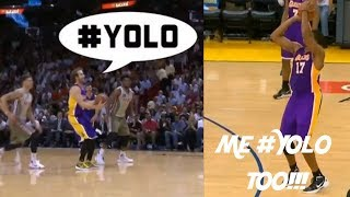 """NBA Shots You Know That Will """"MISS"""""""