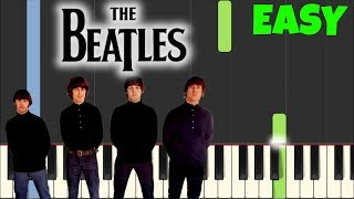 Video The Beatles - Let It Be [Easy Piano Tutorial] (Synthesia/Sheet Music) download MP3, 3GP, MP4, WEBM, AVI, FLV November 2018