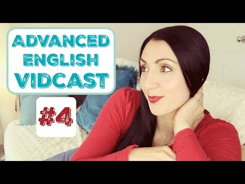 Advanced English Vidcast LIVE #4: Automation, Great Balls of Fire and Gruesome Ghouls.