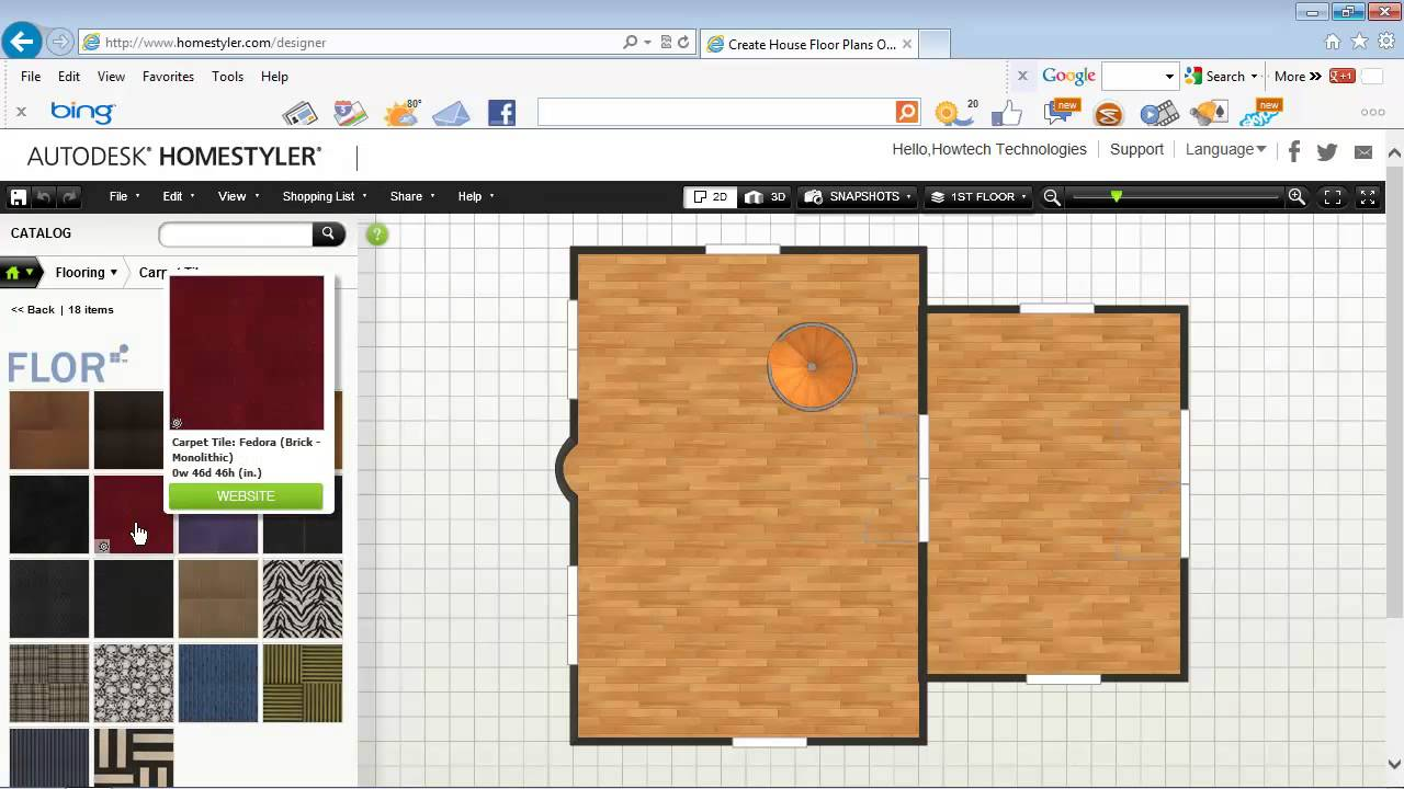 Easy Way to Design Your Home in 3D Online - YouTube