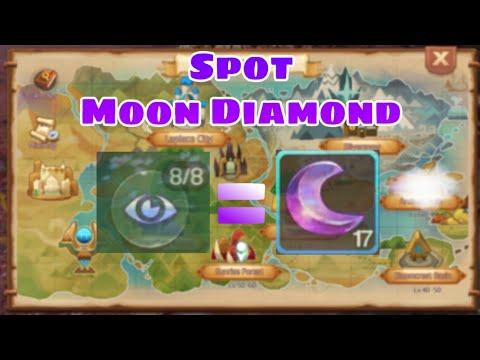 Laplace M | TRUE SIGHT AND SPOT MOON DIAMOND