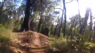 MTB trails in the Western Australian Kalamunda Hills