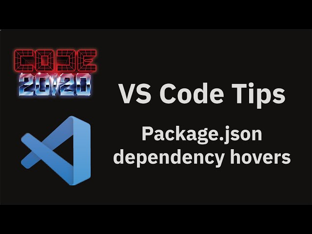 Package.json dependency hovers