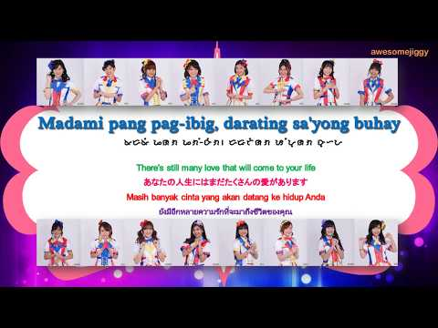 MNL48 - Pag Ibig Fortune Cookie Lyrics (BBY/ENG/JAP/IND/THAI)