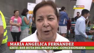 RUTA DEL MAIPO, CONASET Y MUNICIPIO REALIZARON FERIA DE ENTRETENCIÓN Y SEGURIDAD VIAL