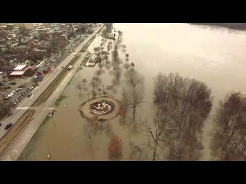 Missouri River Flooding - Downtown St. Charles, MO