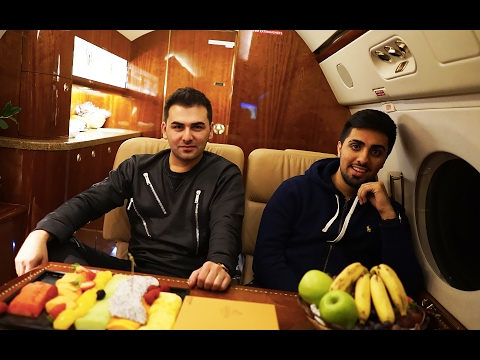 Flying with Mo Vlogs in a Private Jet to London