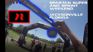 [ALL OBSTACLES] 2018 Jacksonville Spartan Race Super/Sprint Weekend