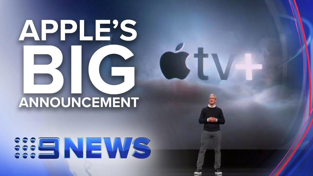 Apple enters streaming space | Nine News Australia