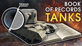 Book of Records: TANKS / War Thunder