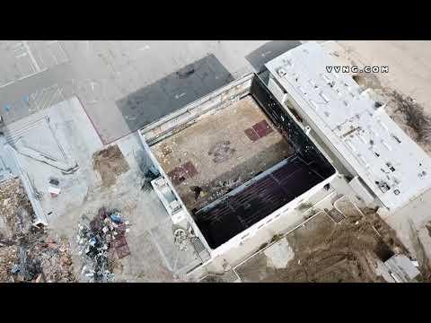 VICTOR VALLEY JUNIOR HIGH SCHOOL DEMOLITION - DRONE FOOTAGE
