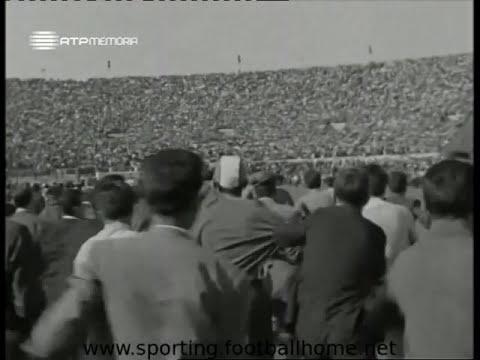 Sporting - 3 x Benfica - 1 de 1961/1962 - Festa do Título