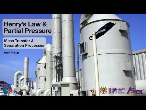 IEK213 Henry's Law and Partial Pressures