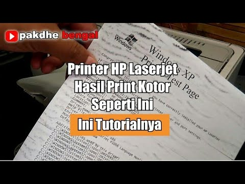 Printer Hp Laserjet Hasil Print Kotor Video Kotor Bergelombang