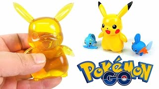 DIY Pokemon Go Pikachu Gummy ! How To Make Pikachu Figure jelly