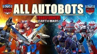TRANSFORMERS - ALL AUTOBOTS TRANSFORMATION
