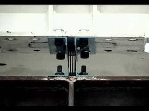 Video of Low yield steel device prototype test