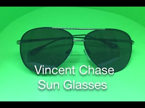 05640f4905 Vincent Chase VC 4611 Aviator Sunglasses - YouTube