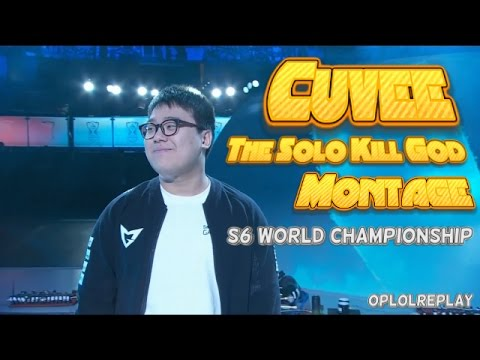 Cuvee, The Solo Kill God Montage - LoL S6 World Championship